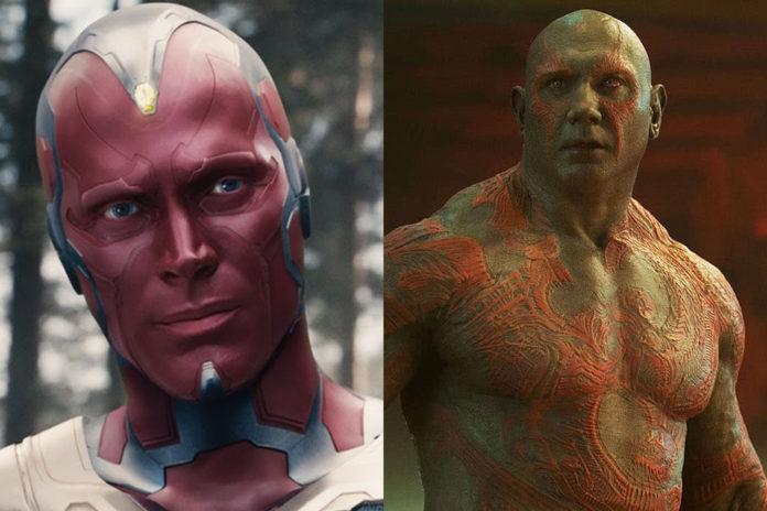 Visão e Drax Vingadores