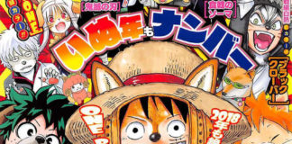 Weekly Shonen Jump One Piece Luffy