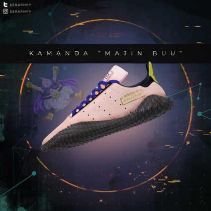 Adidas Kamanda Majin Buu Dragon Ball Z