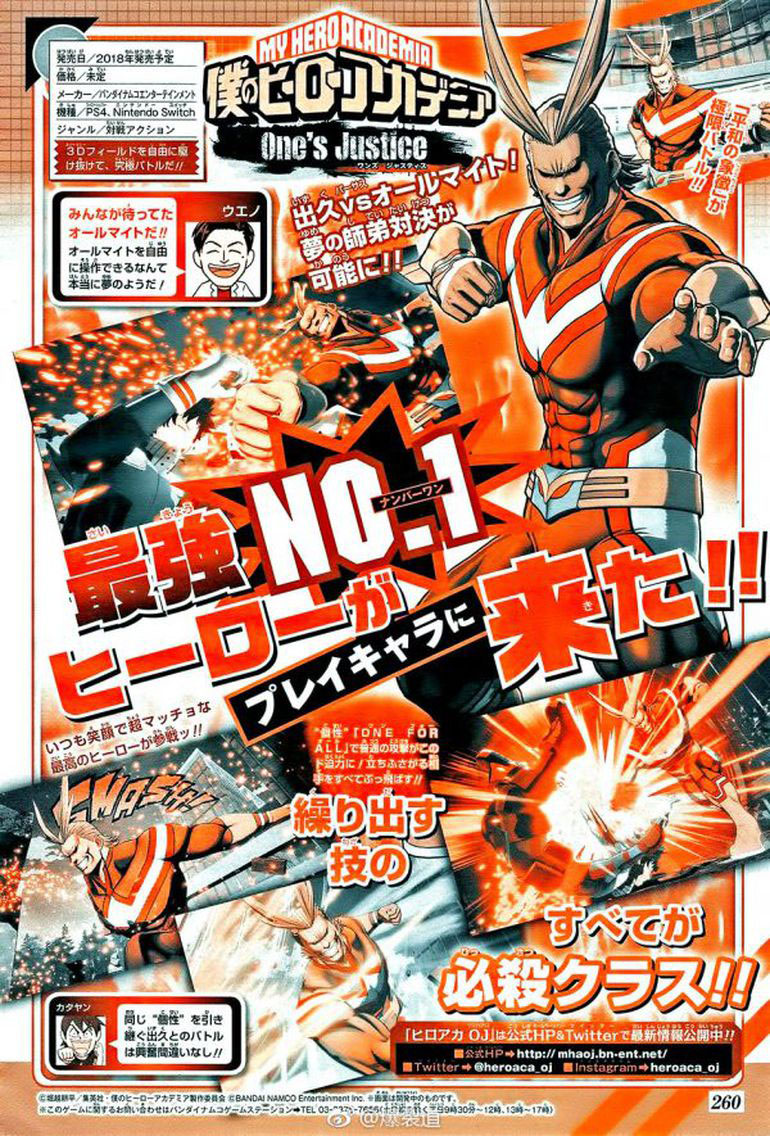 All Might My Hero Academia: One's Justice