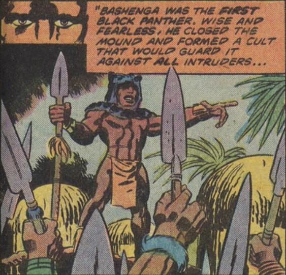 Bashenga o primeiro Pantera Negra