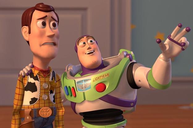 Buzz e Woody Viva - A Vida é uma Festa