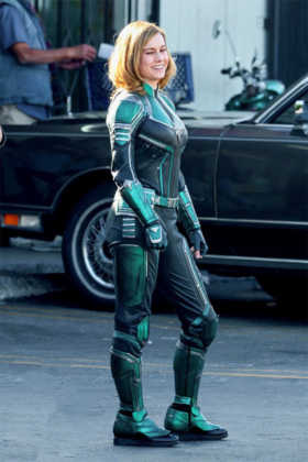 Capitã Marvel Brie Larson bastidores 02