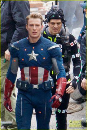 Capitão América bastidores Vingadores 4 01