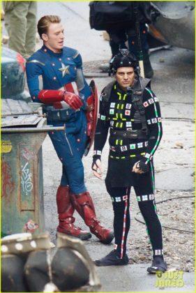 Capitão América bastidores Vingadores 4 02