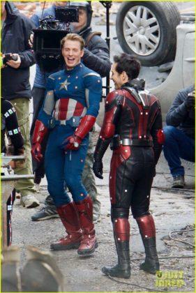 Capitão América bastidores Vingadores 4 10
