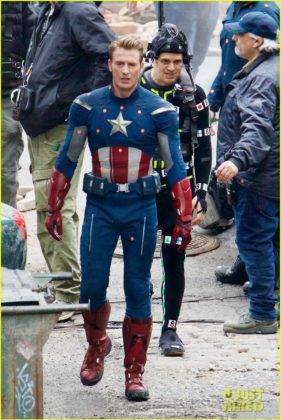 Capitão América bastidores Vingadores 4 23