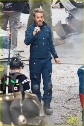 Capitão América bastidores Vingadores 4 24