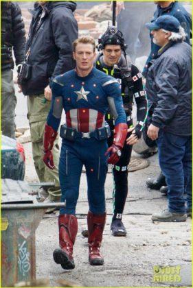 Capitão América bastidores Vingadores 4 33