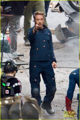 Capitão América bastidores Vingadores 4 38