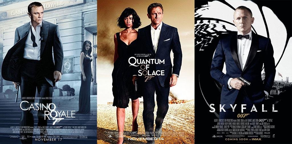 Cartazes filmes 007