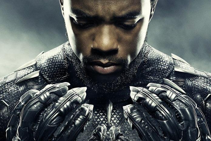 Chadwick Boseman poster Pantera Negra