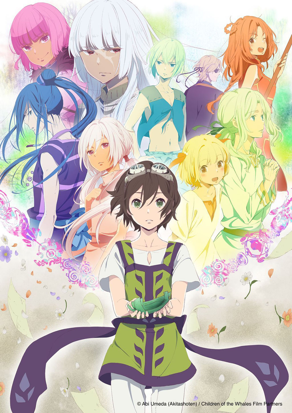 Poster anime Children of the Whales