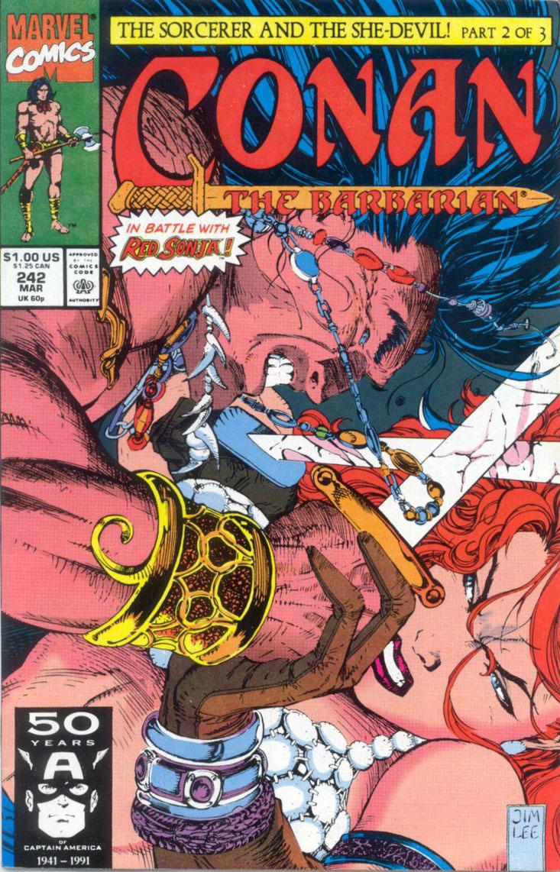 Capa Conan, o Bárbaro 1991