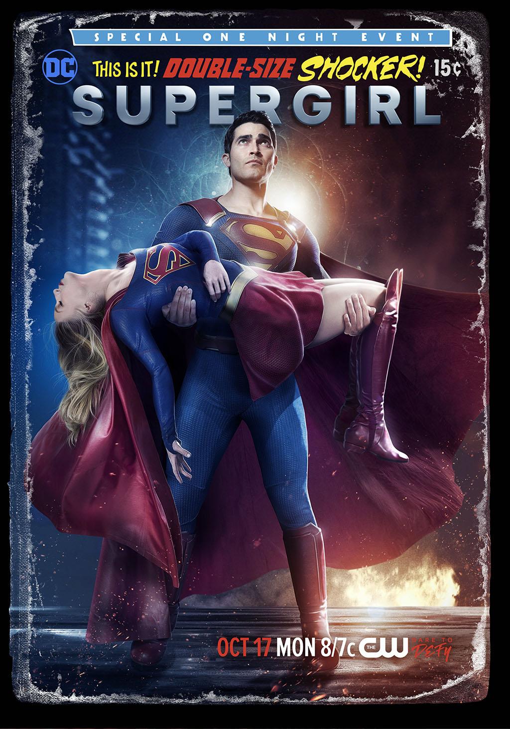 Poster Crise nas Infinitas Terras Supergirl