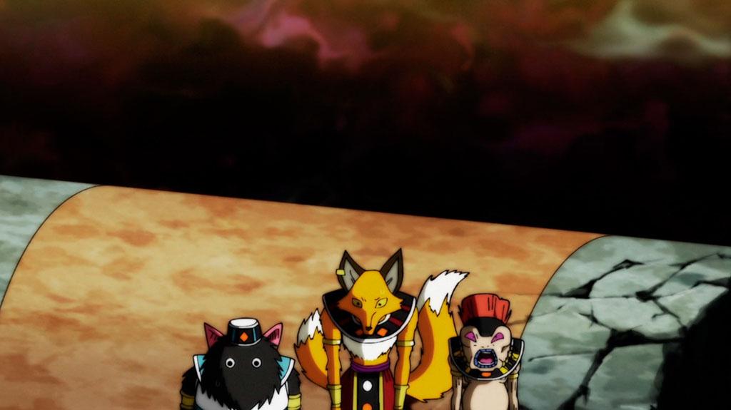 Deuses da Destruição Dragon Ball Super episódio 96