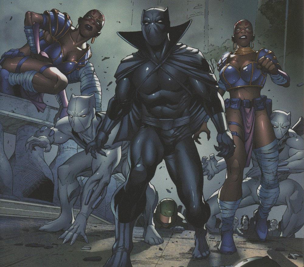 Dora Milaje filhas do Pantera Negra