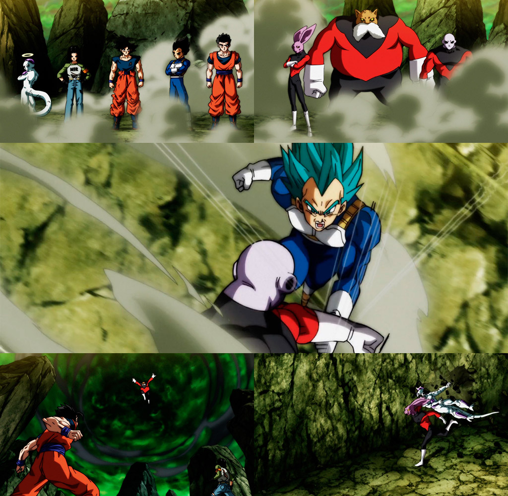 Cenas Dragon Ball Super episódio 122