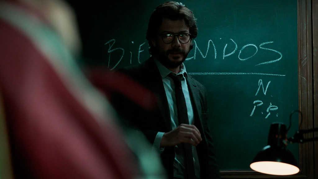 El Professor La Casa de Papel Netflix