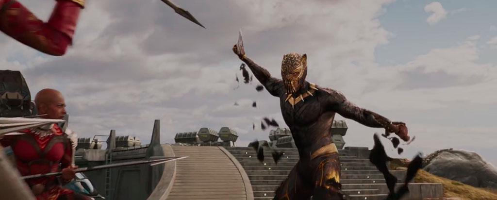 Erik Killmonger Pantera Negra trailer