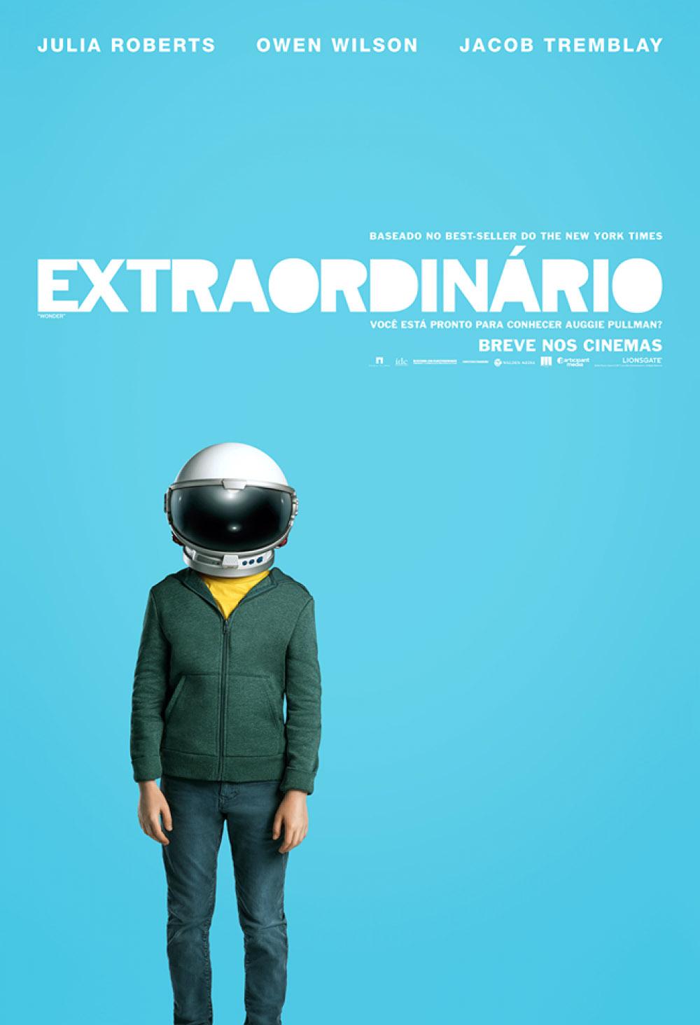 Poster Extraordinário filme (2017)