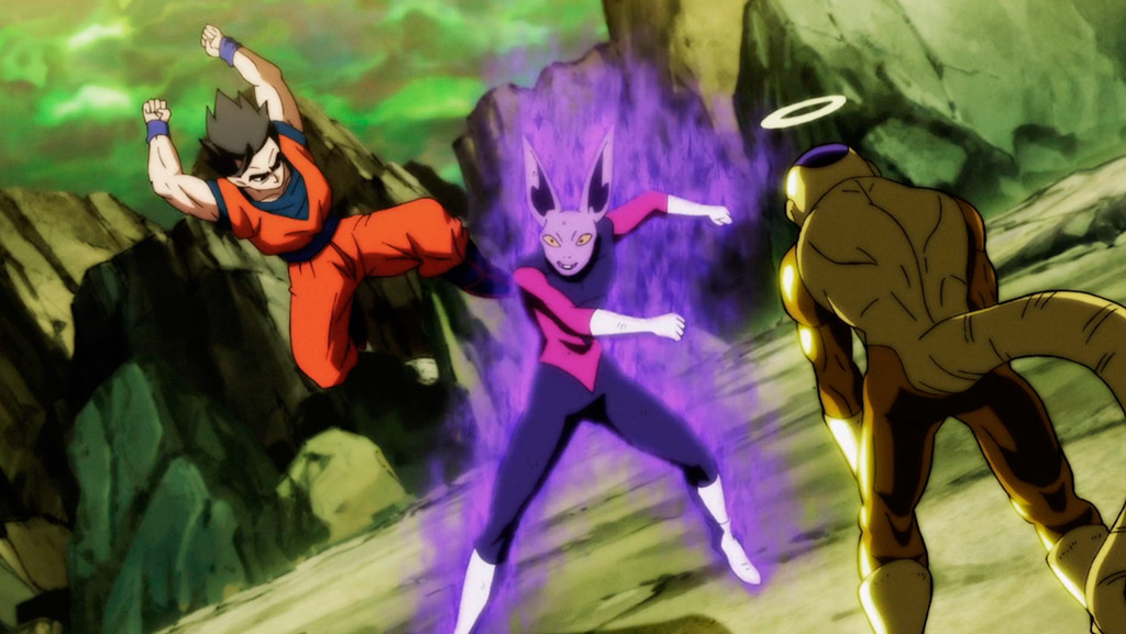 Gohan e Frieza vs Dyspo Torneio do Poder DBS