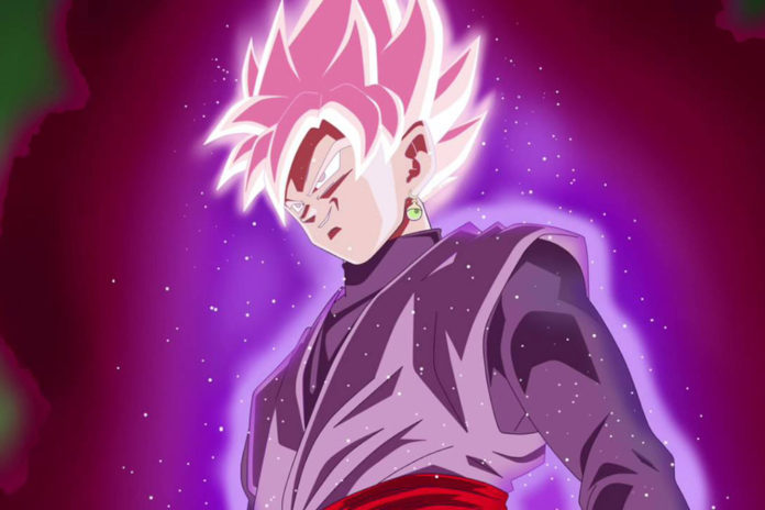 Goku Black Super Saiyajin Rosé