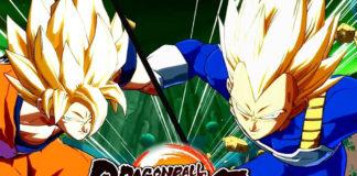 Goku e Vegeta Dragon Ball FighterZ