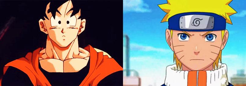 Goku, Naruto