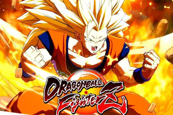Goku super saiyajin 3 Dragon Ball FighterZ