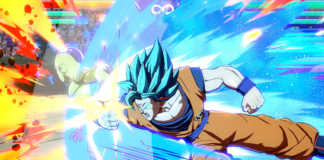 Goku Super Saiyajin Blue vs Golden Frieza Dragon Ball FighterZ
