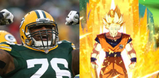 Mike Daniels Green Bay Packers Dragon Ball FighterZ