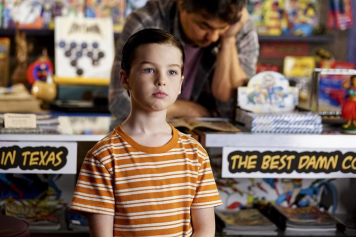 Iain Armitage Young Sheldon