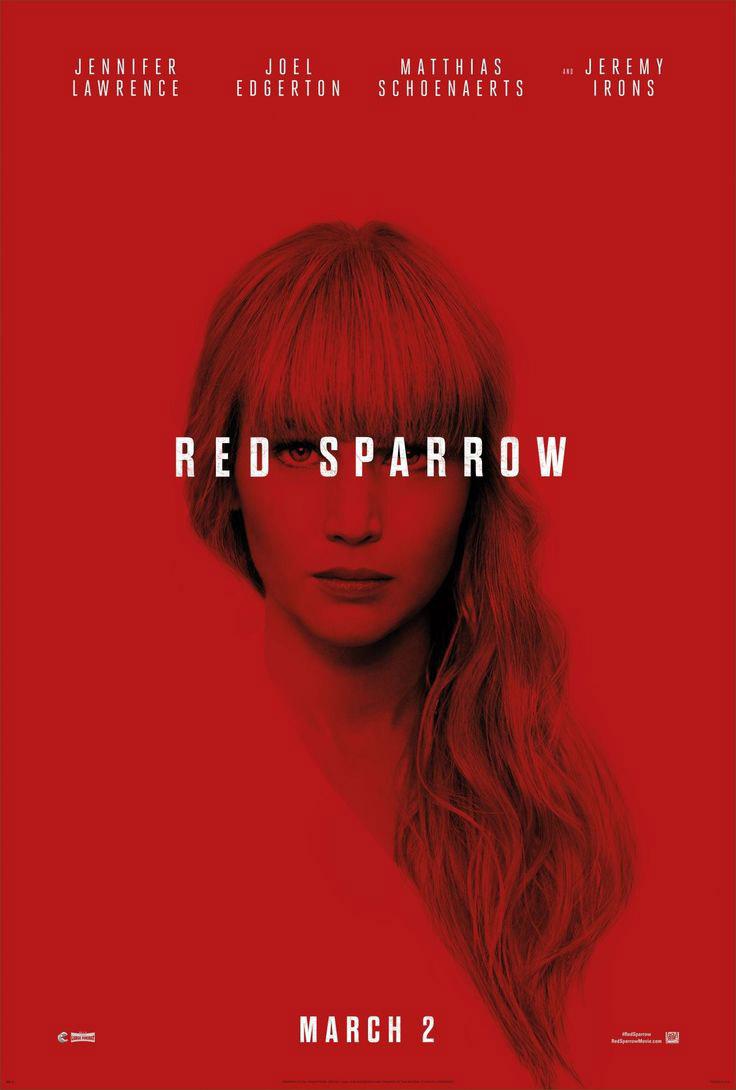 Poster Operação Red Sparrow