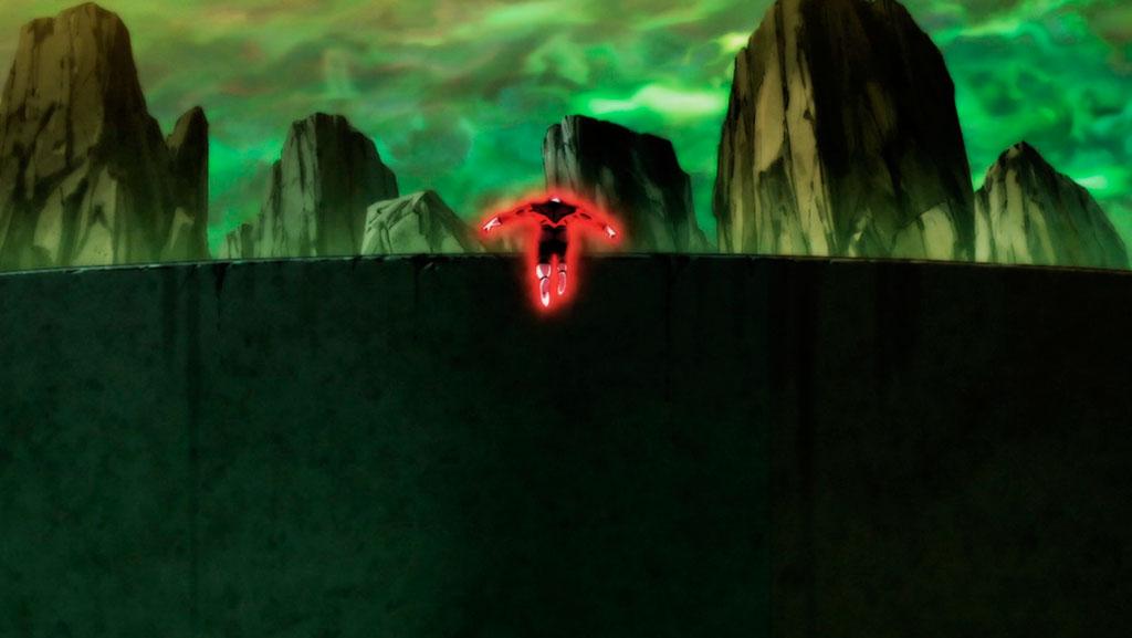 Jiren retorna à arena Torneio do Poder ep. 123
