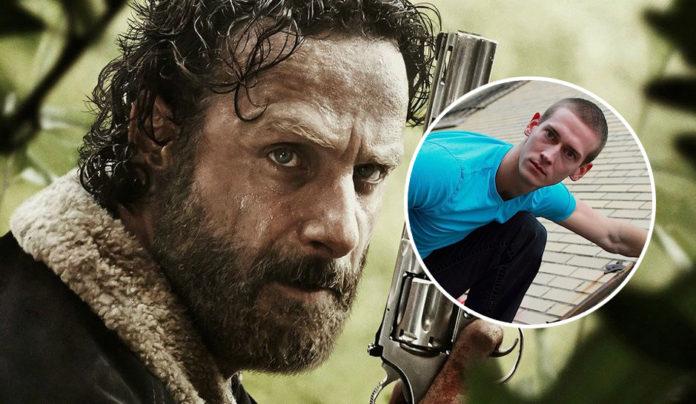John Bernecker dublê morto em The Walking Dead