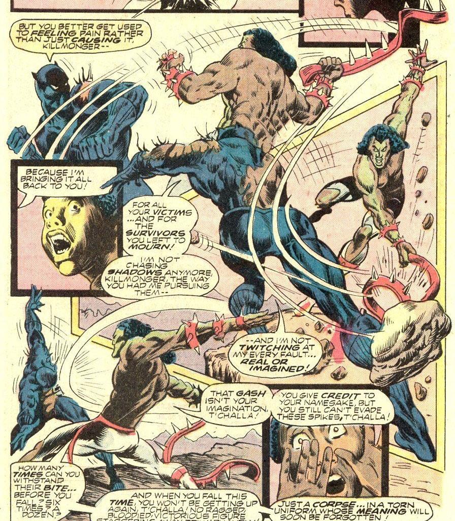 Killmonger x Pantera Negra