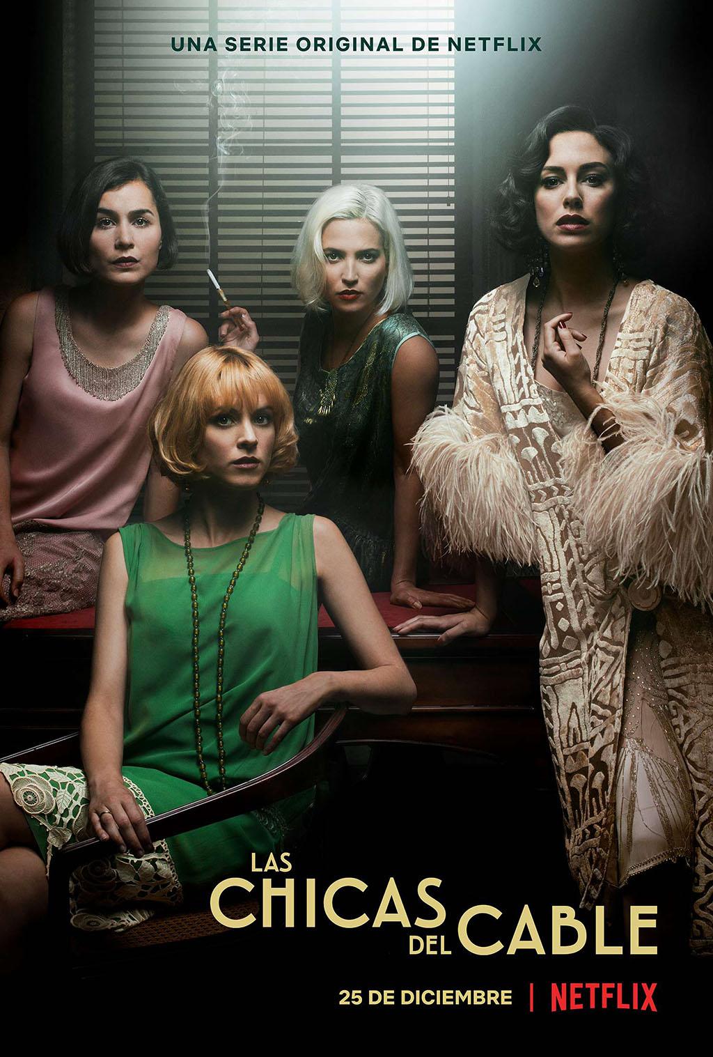 Poster Las Chicas del Cable Netflix