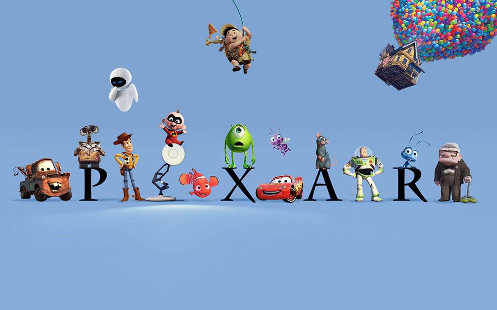 Logo filmes Pixar