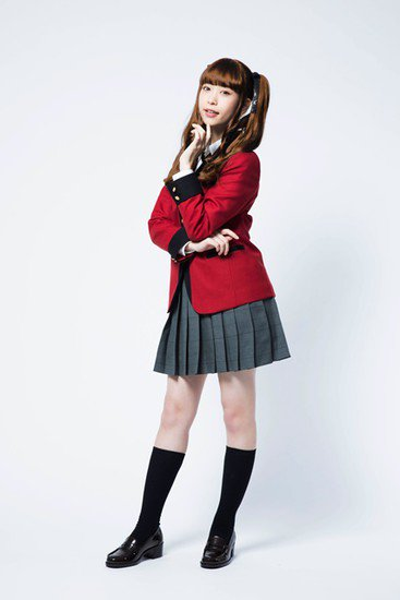 Aoi Morikawa é Mary Saotome Kakegurui