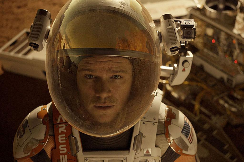 Matt Damon Perdido em Marte (2015)