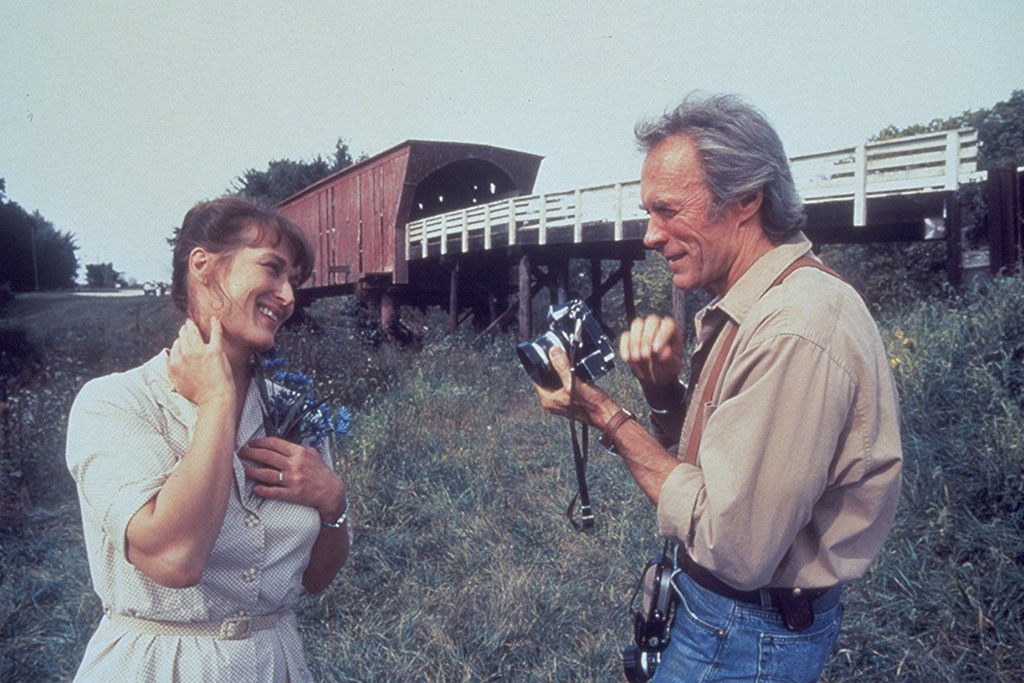 Meryl Streep e Clint Eastwood As Pontes de Madison 1995