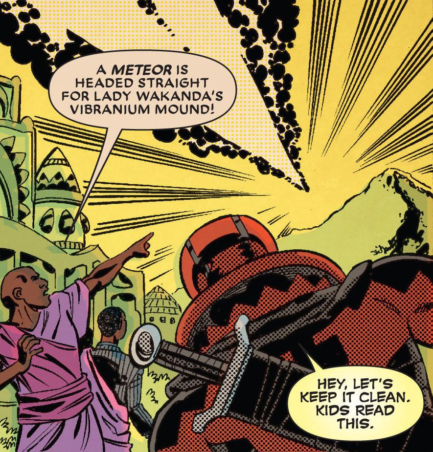 Meteoro de Vibranium Wakanda