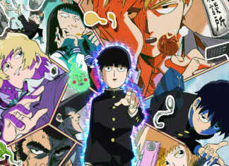Mob Psycho 100 anime personagens