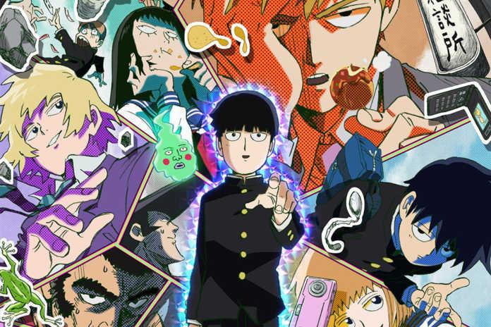 Mob Psycho 100 anime personagens