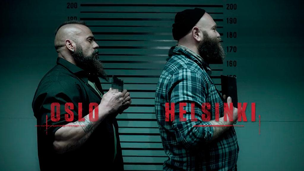 Oslo e Helsinki La Casa de Papel Netflix
