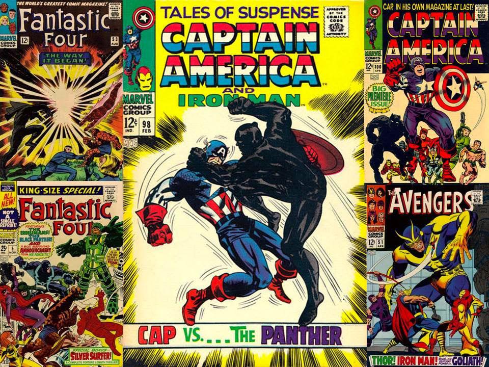 Pantera Negra Marvel Comics