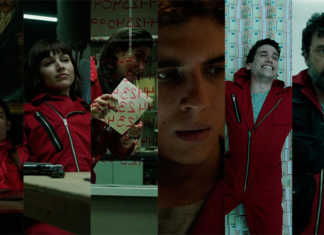 Personagens La Casa de Papel