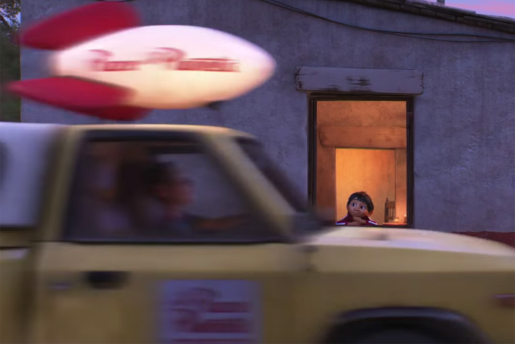 Pizza Planet Truck Viva - A Vida é uma Festa