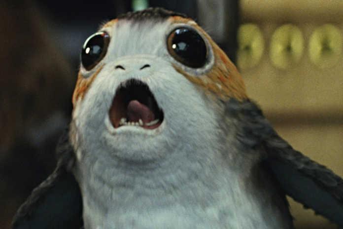 Porg Star Wars: Os Últimos Jedi